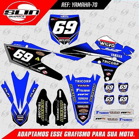 Adesivo Yamaha Equipe Wilvo Racing - MXGP