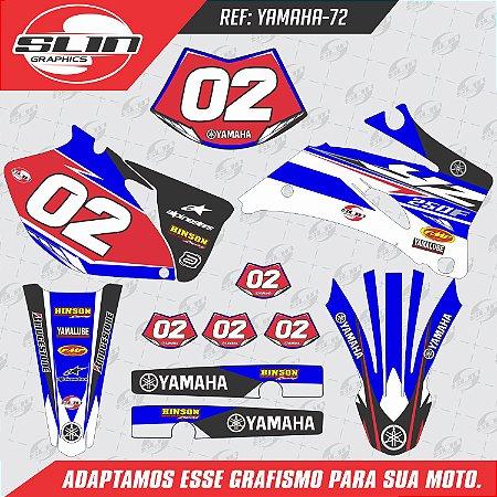 Adesivo Yamaha YZF 250/450 - Racing Red
