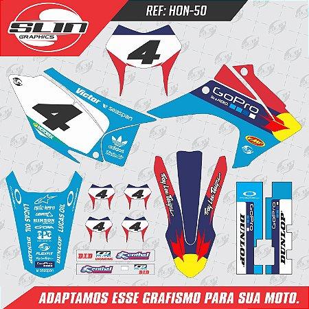 Adesivo Honda Crf 230 15/19 - Edição Especial Go Pro