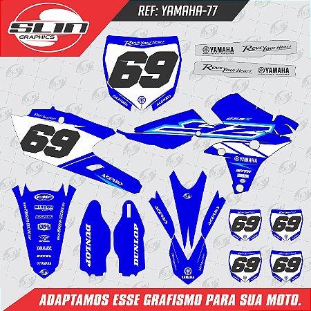 Adesivo Yamaha Blue Stock