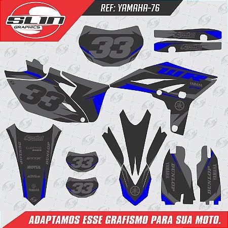 Adesivo Yamaha WRF 250/450 - Blue Racing Design
