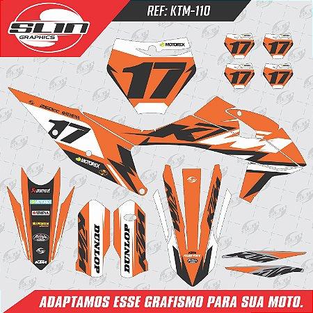 Adesivo Ktm Flux 250/350/450 SX Racing Design Pro