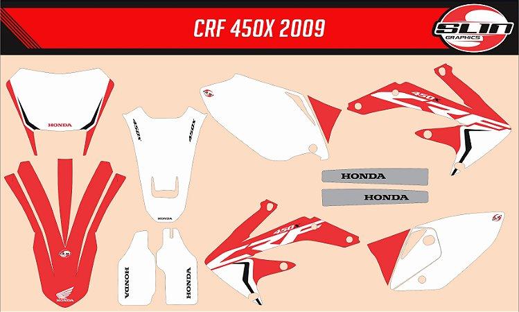 Adesivo Honda Crf 450x - Original Style