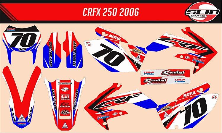 Adesivo Honda Crf 250x - Honda Racing