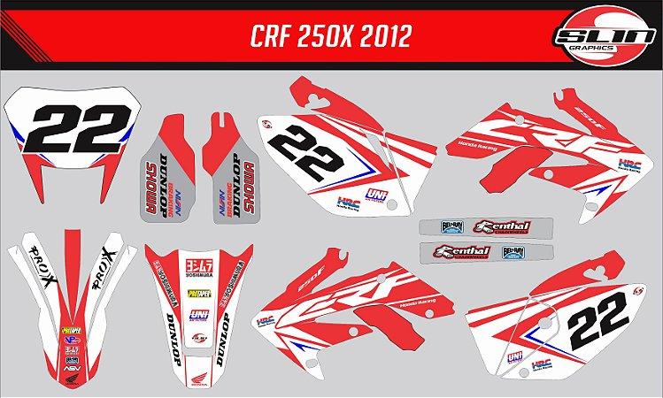 Adesivo Honda Crf 250x - Yoshimura Star Racing