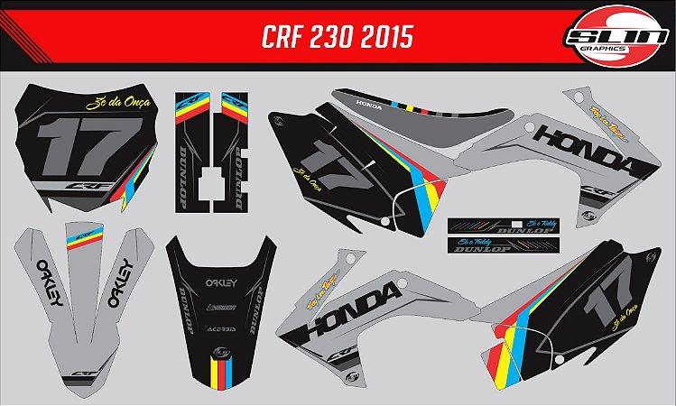 Adesivo Honda Crf 230 15/19 - Colorful Line Edition