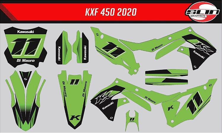 Adesivo Kawasaki Kxf 450 - Green Moto Racing