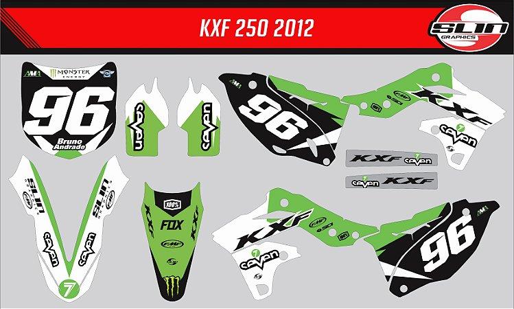 Adesivo Kawasaki Kxf 250 - Seven Style