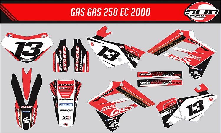 Adesivo Gas Gas 250ec 00 - France Racing