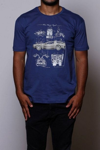 Camiseta Masculina Time Travel Project