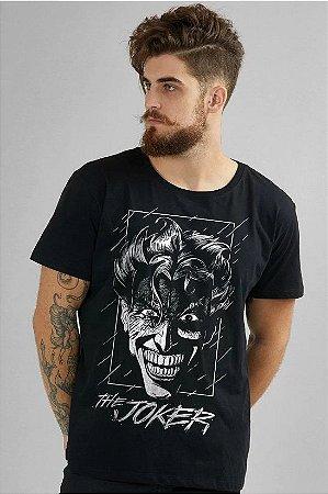 Camiseta Masculina The Joker Face