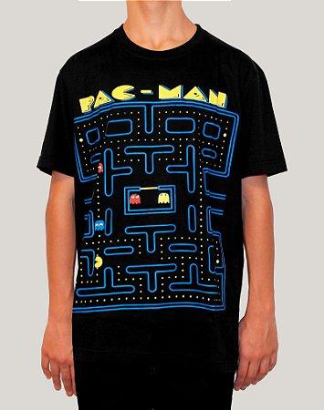 Camiseta Masculina Pac-Man