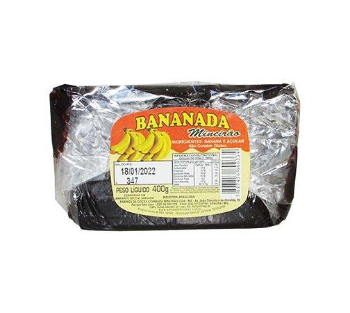 Bananada Barra 400g