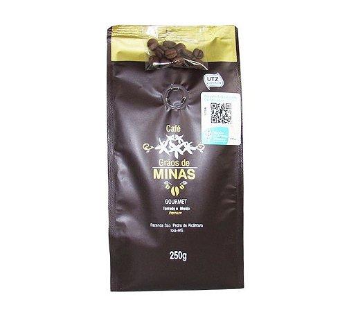 Café Grão de Minas 250 g - Torrado e Moído