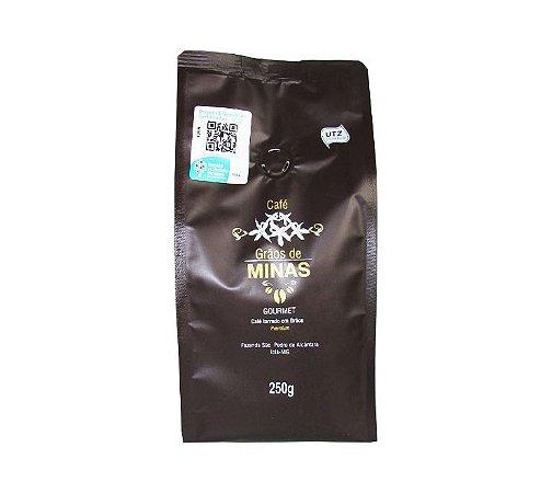 Café Grão de Minas 250 g - Grão Torrado