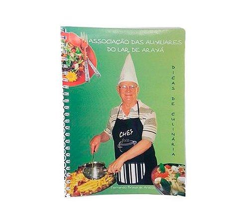 """Livro """"Dicas de Culinária"""""""