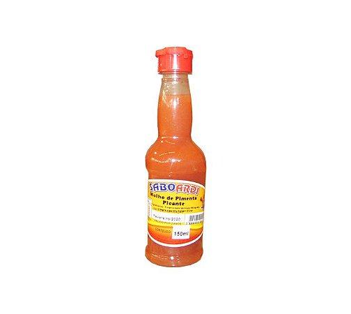 Molho de pimenta picante saboardi  150 ml