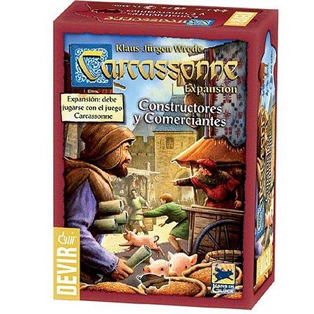 Carcassonne: Comerciantes e Construtores