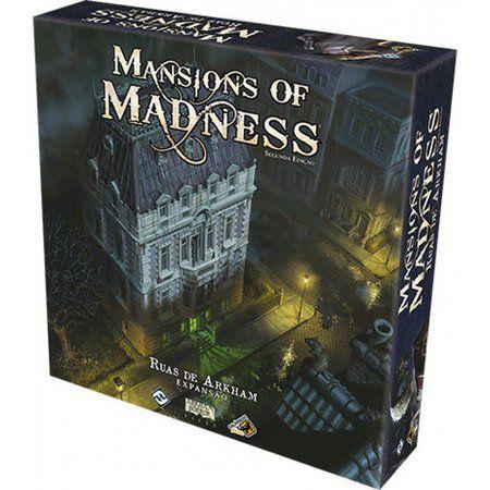Mansions of Madness: Ruas de Arkham (Pré-venda)(Expansão)