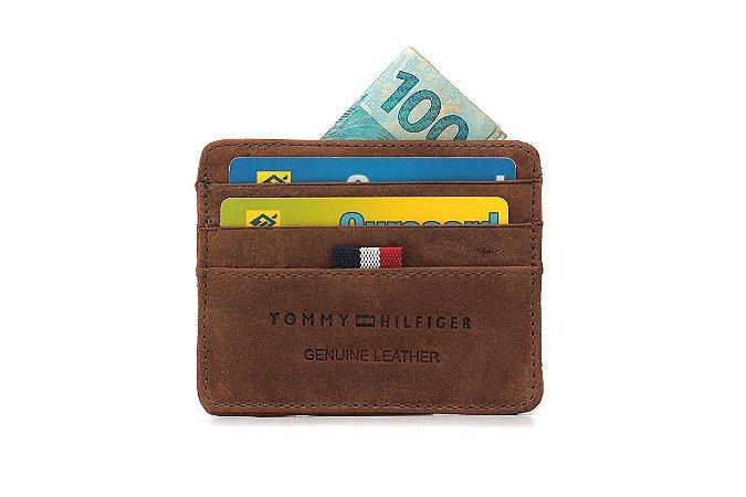 Porta Cartão Tommy Hilfiger Café