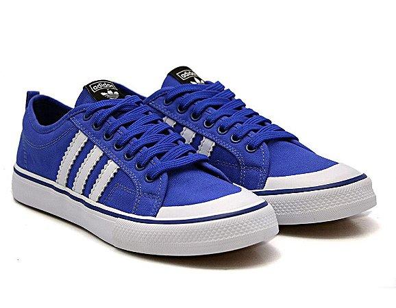 Tênis Casual Adidas Azul
