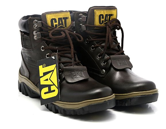 Coturno Caterpillar Adventure Latego Café - Ref. 300