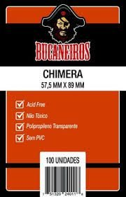 Sleeve Bucaneiros CHIMERA 57,5 x 89 mm