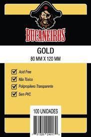 Sleeve Bucaneiros GOLD 80 x 120 mm