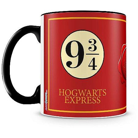 Caneca Personalizada Hogwarts Express (Preta)