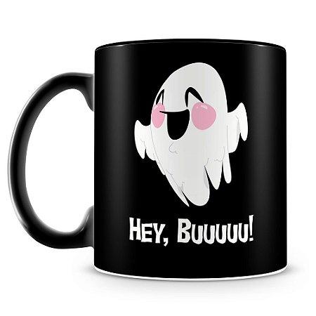 Caneca Personalizada Halloween Dia das Bruxas Mod.5 (100% Preta)