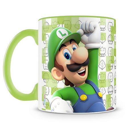 Caneca Personalizada Super Mario (Luigi)