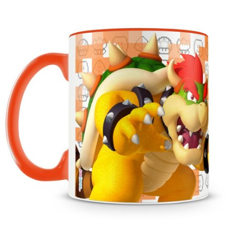 Caneca Personalizada Super Mario (Bowser)