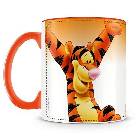 Caneca Personalizada Ursinho Pooh e Seus Amigos (Tigrão)