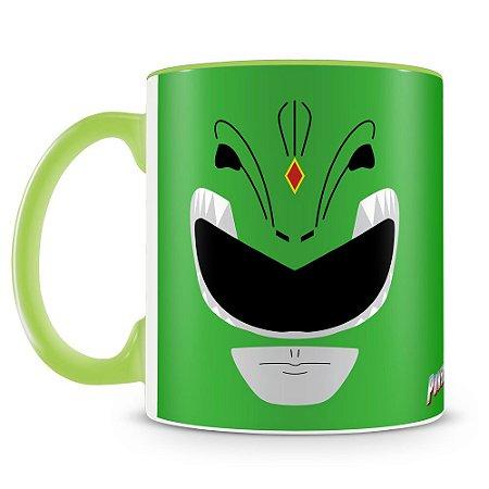 Caneca Personalizada Power Rangers (Ranger Verde)