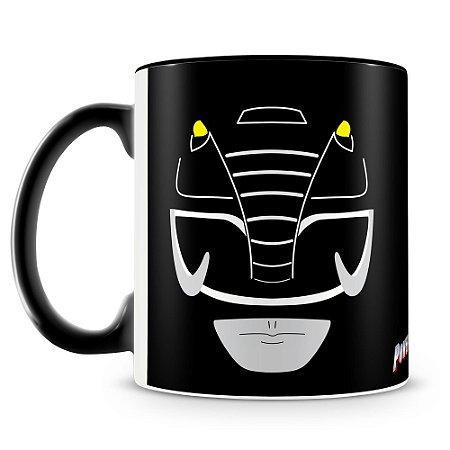 Caneca Personalizada Power Rangers (Ranger Preto)