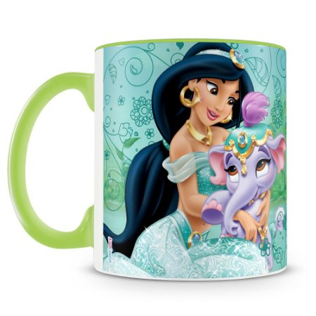 Caneca Personalizada Princesas & Pets (Jasmine)