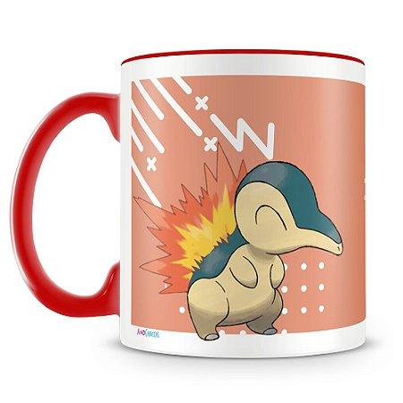 Caneca Personalizada Pokémon Cyndaquil