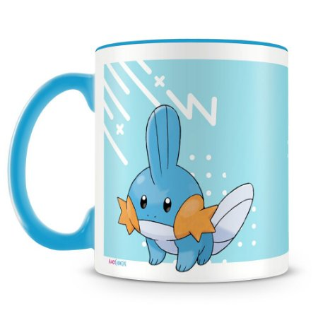 Caneca Personalizada Pokémon Mudkip