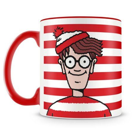 Caneca Personalizada Where's Wally