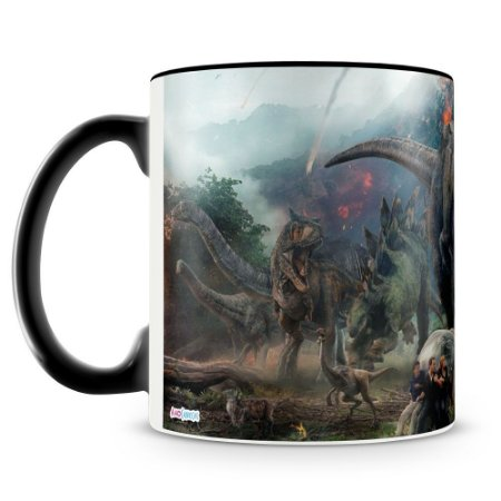 Caneca Personalizada Jurassic World (Mod.1)