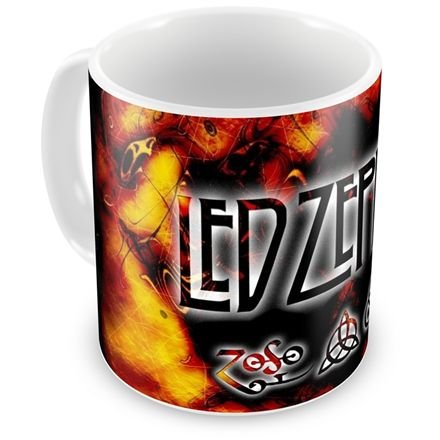 Caneca Personalizada Banda Led Zeppelin (Mod.1)