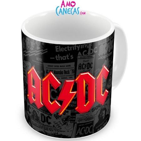 Caneca Personalizada Banda AC/DC (Mod.1)