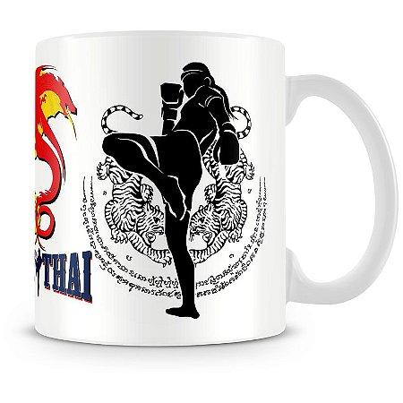 Caneca Personalizada Muay Thai