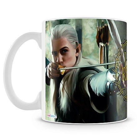 Caneca Personalizada Senhor dos Anéis (Gandalf e Légolas)