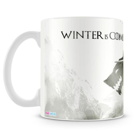 Caneca Personalizada Game Of Thrones Winter (Mod.1)