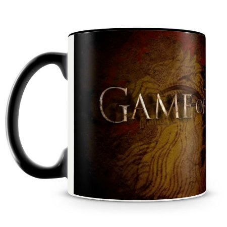 Caneca Personalizada Game Of Thrones (Preta)
