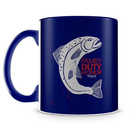 Caneca Personalizada Game of Thrones Casa Tully