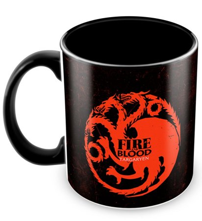 Caneca Personalizada Game of Thrones Casa Targaryen