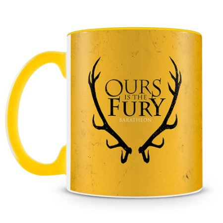 Caneca Personalizada Game of Thrones Casa Baratheon