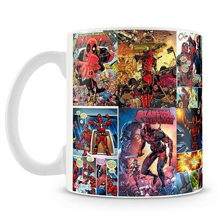 Caneca Personalizada Quadrinhos Deadpool